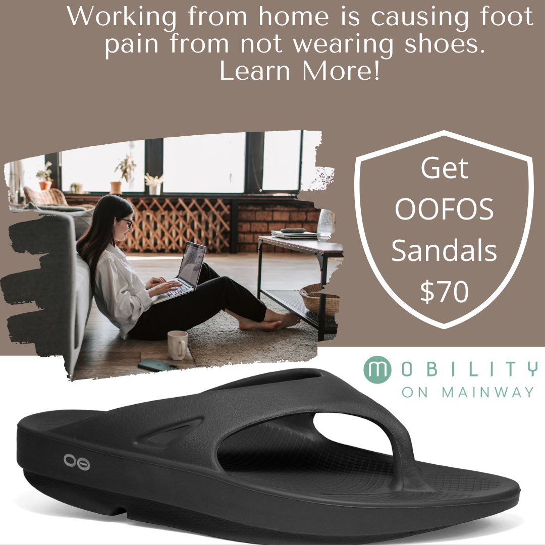 What is COVID-19 and Staying at Home Doing to Your Feet?OOFOS Sandals $70