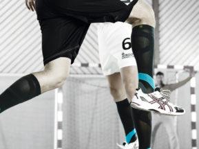 Bauerfeind Compression Socks Men Black and Teal