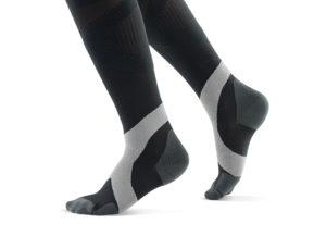 Bauerfeind Compression Socks Men Black and Gray