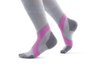 Bauerfeind Compression Socks Women Gray