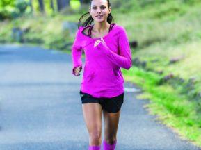 Compression Socks Running Woman Pink