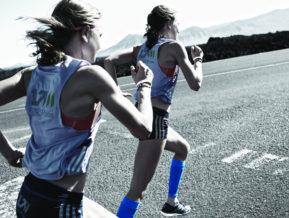 Compression Socks for athletes blue